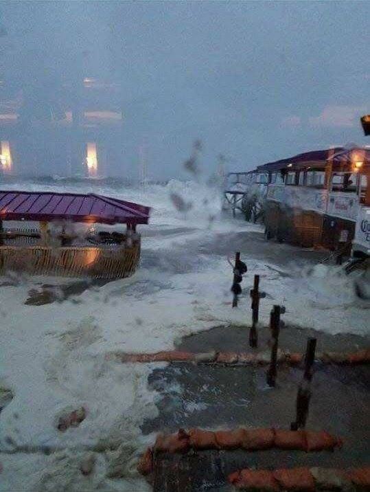 Facebook Photo of Martell's Tiki Bar during the Jan. 23 nor'easter.