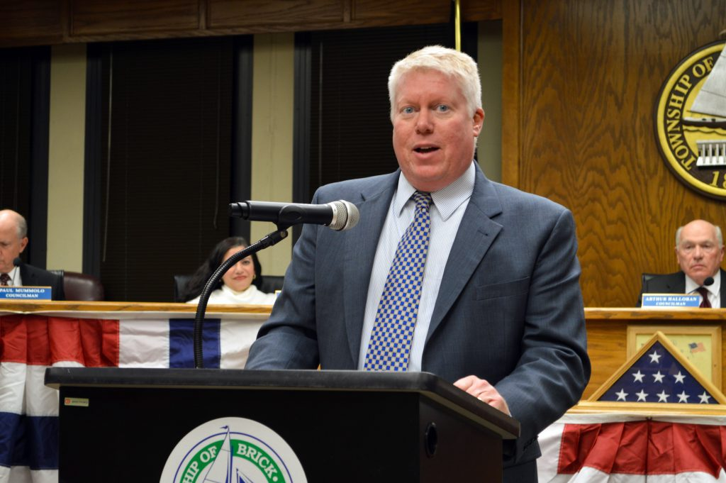 Brick, N.J. Mayor John Ducey (Photo: Daniel Nee)