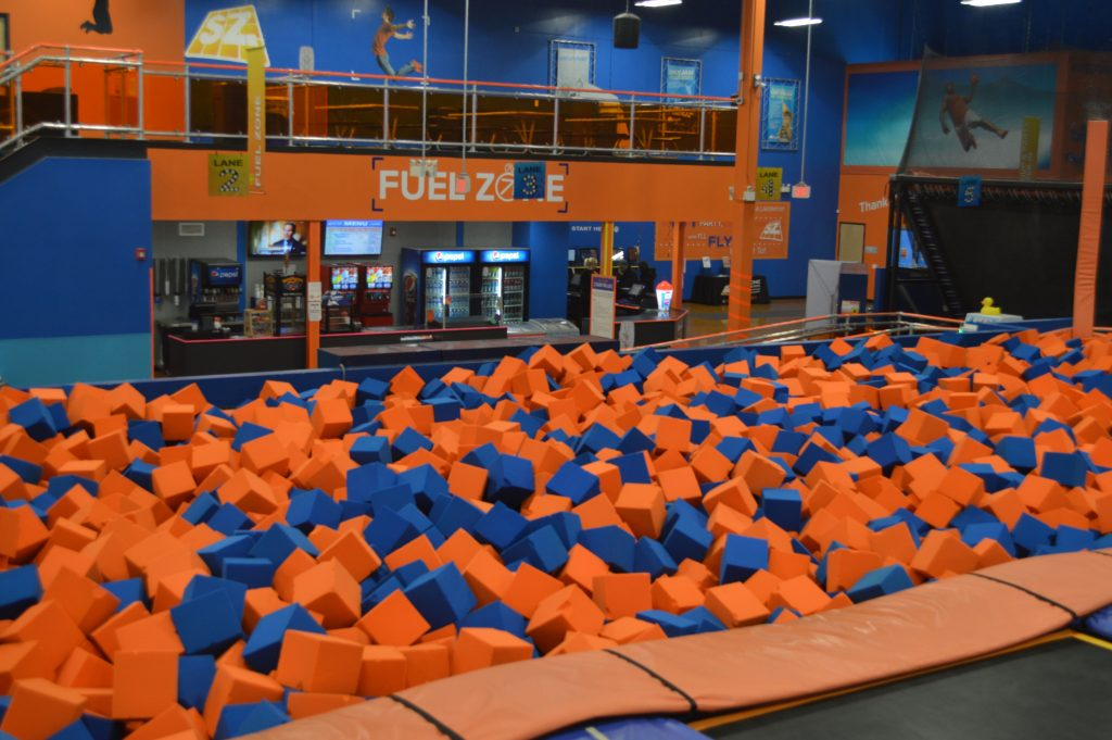SkyZone, Lakewood, NJ. (Photo: Daniel Nee)