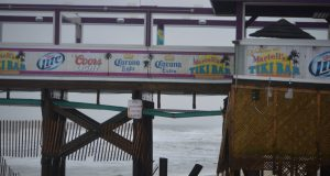 Martell's Tiki Bar following the Jan. 23, 2017 nor'easter. (Photo: Daniel Nee)