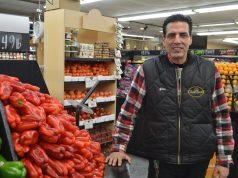 Gino Palummo at his store in Brick, Uncle Gino's Market. (Photo: Daniel Nee)