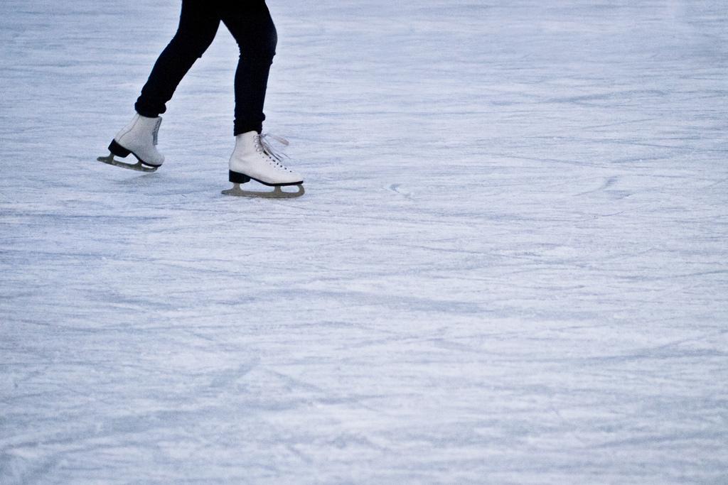 Ice skating/skates. (Credit: Benson Kua/Flickr)