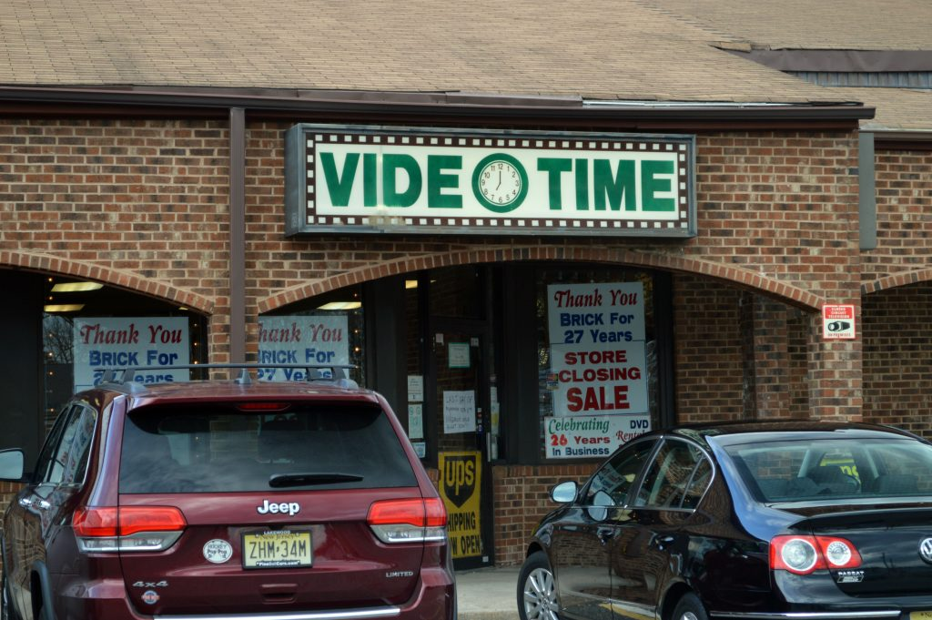 Video Time, Brick, N.J. (Photo: Daniel Nee)