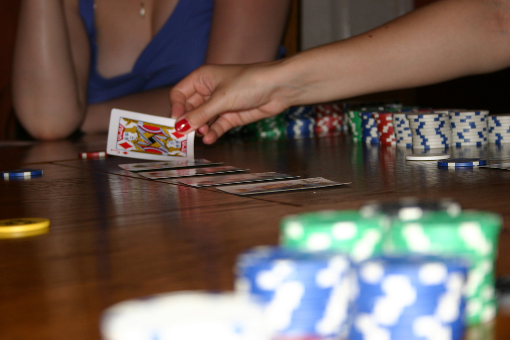 Poker cards and chips. (Credit: Adam Croft/Flickr)