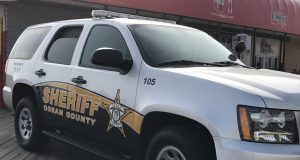 Ocean County Sheriff's Department vehicle. (Photo: Daniel Nee)