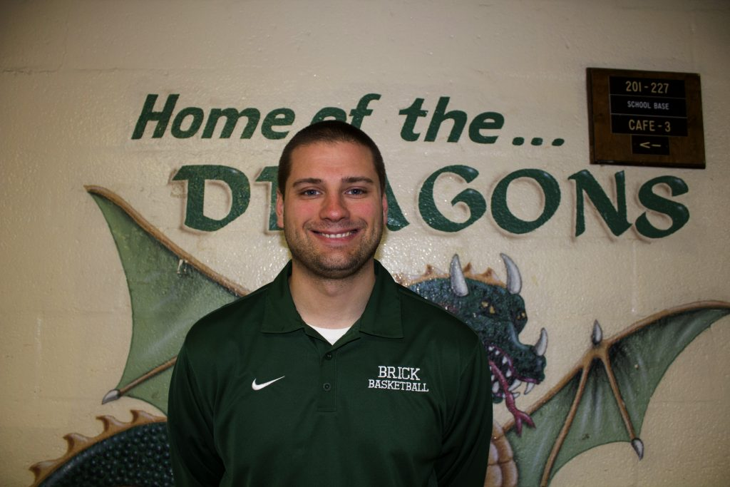 Brick Township High School head boys basketball coach Mike Gawronski enjoys coaching and teaching at the school. Photo credit: Luna Ortega