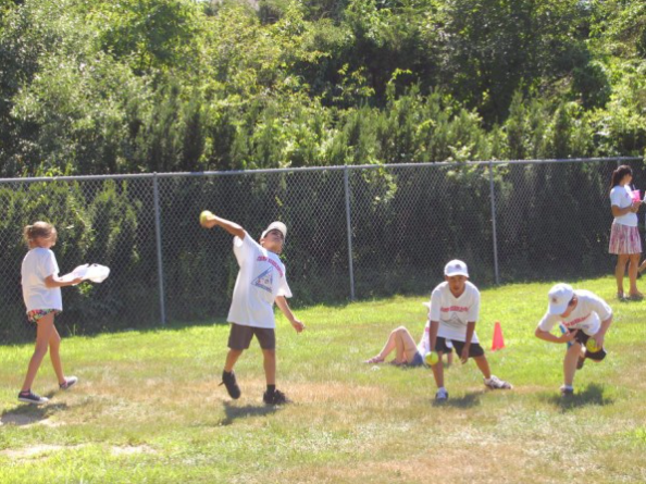 A previous Knights of Columbus field day for disabled Brick students. (Photo: Daniel Nee)