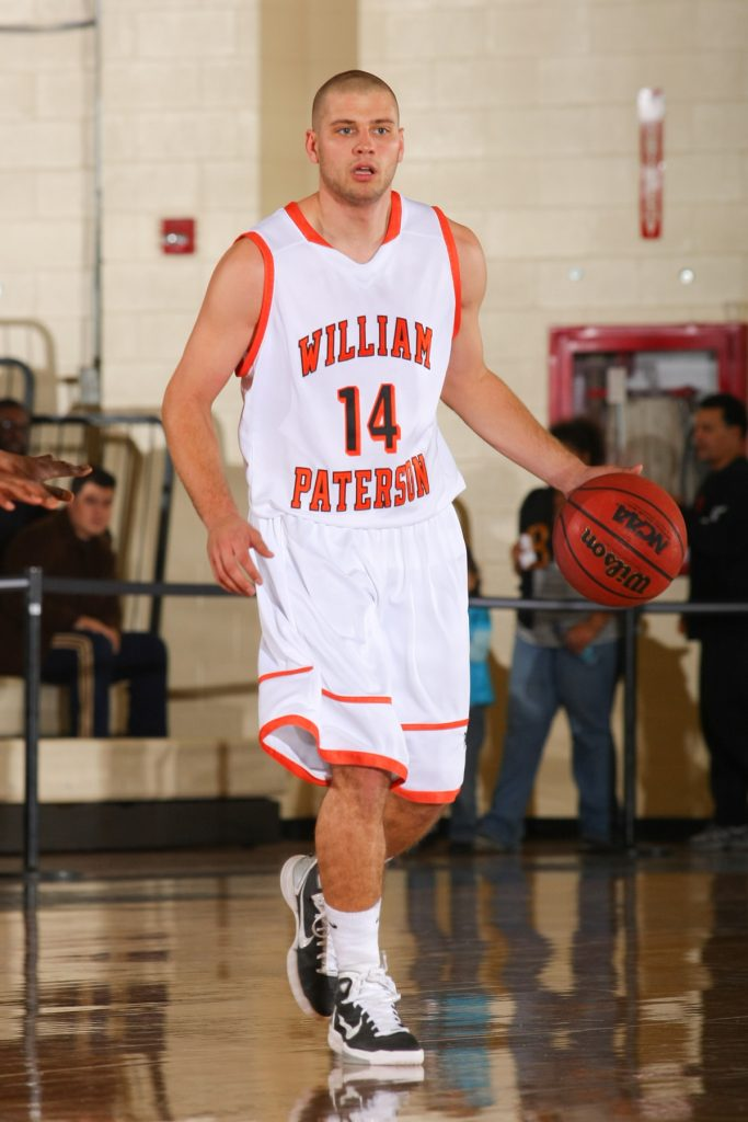 Mike Gawronski played four varsity seasons for the William Paterson University Pioneers. Photo credit: Larry Levanti/William Paterson University Athletics Department