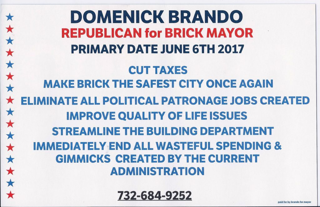 Domenick Brando's Flyer