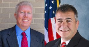 Mayor John Ducey and challenger Domenick Brando. (Campaign Photos)
