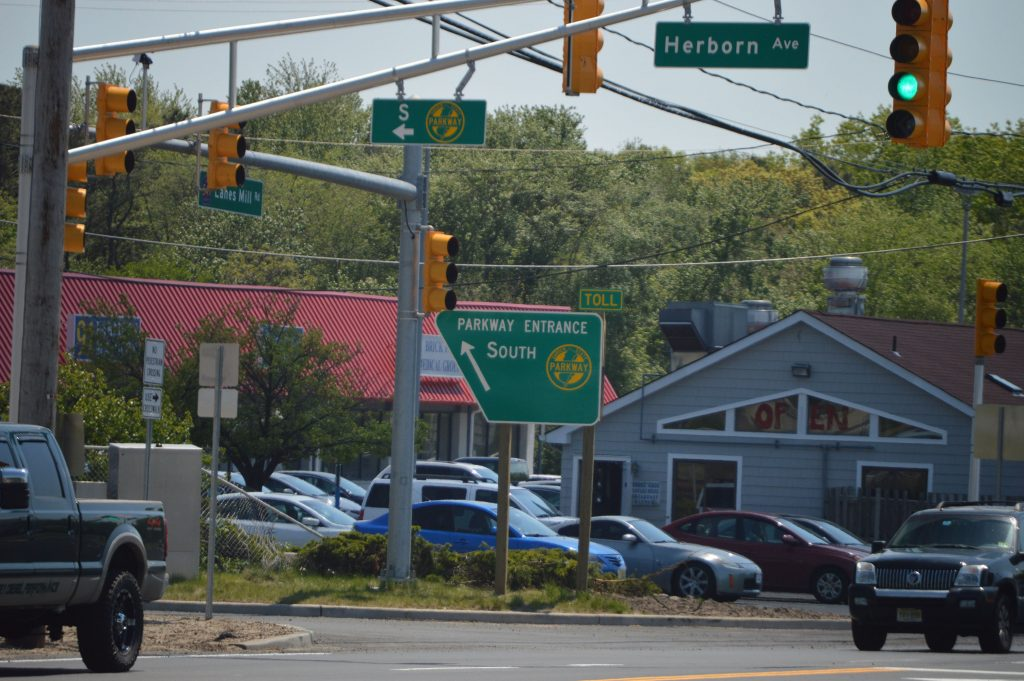 Two New Parkway Entrances Open Traffic Pattern Changes In Brick Brick Nj Shorebeat News