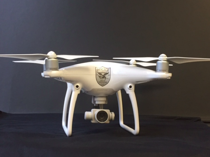 The Brick police department's drone. (Photo: Brick Twp. Police)