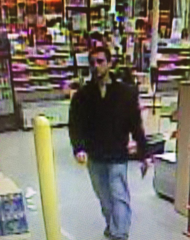 A man suspected of using a stolen Home Depot credit card in Brick. (Photo: Brick Twp. Police)