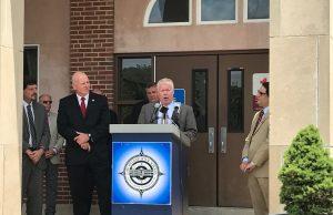 Mayor John Ducey speaks on school funding, June 21, 2017. (Photo: Daniel Nee)