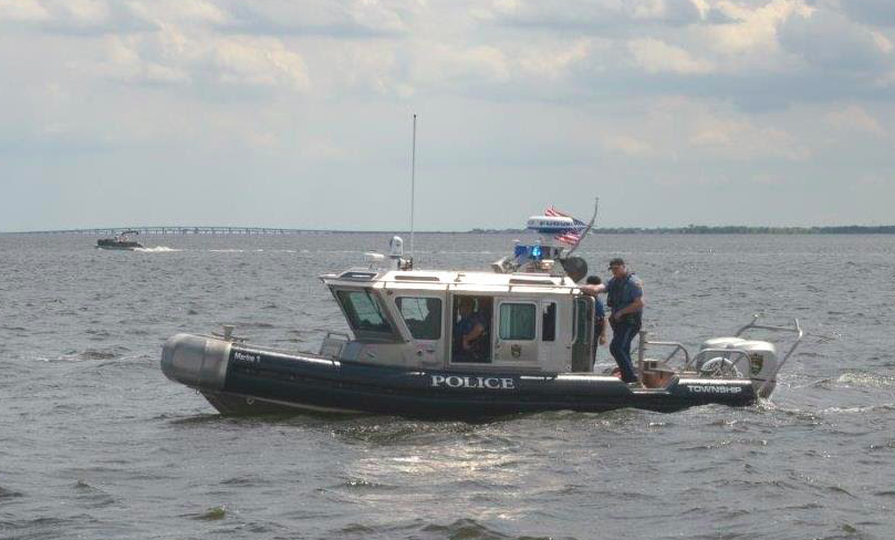Brick's new police boat, a 25-foot Defender class vessel. (Photo: Brick Twp. Police)