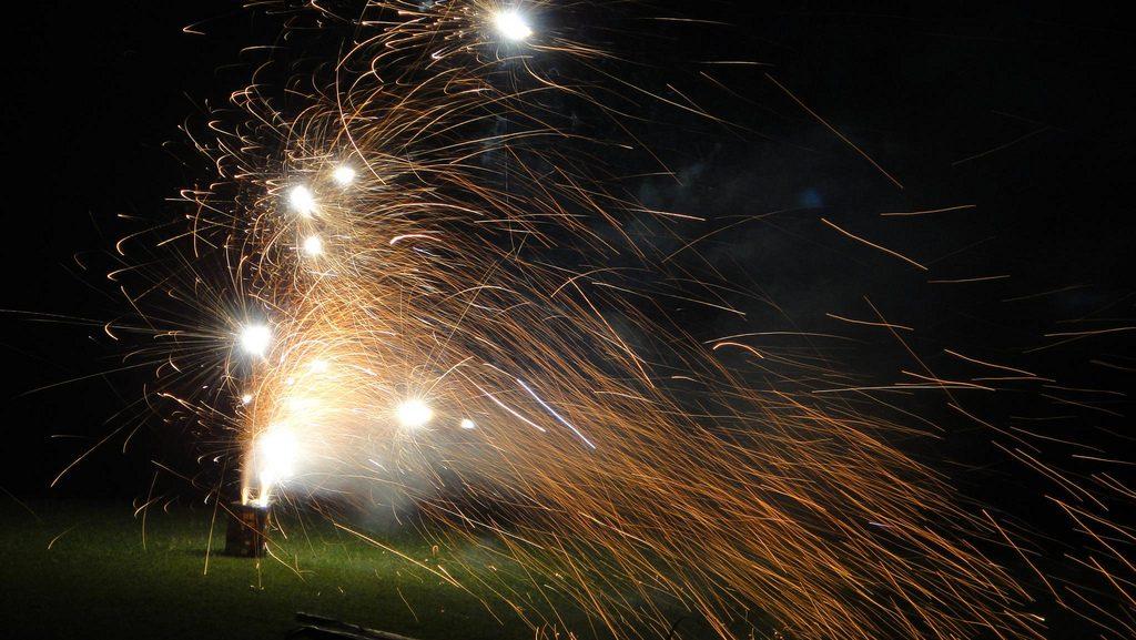 Home fireworks. (Photo: EvanHahn/Flickr)