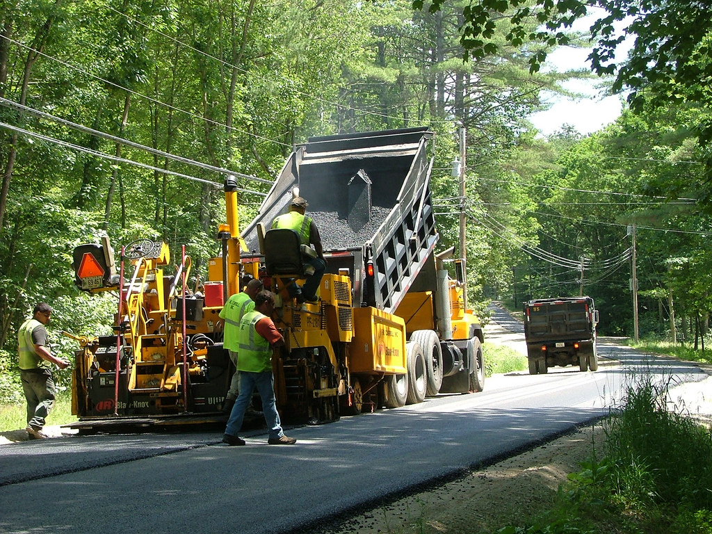 Road Paving Project (File Photo)