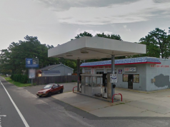 A shuttered gas station at 431 Mantoloking Road, Brick. (Credit: Google Maps)