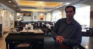Nelson Monroy at Villa Vittoria restaurant in Brick, Oct. 2017. (Photo: Daniel Nee)