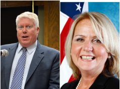 John Ducey (D) and Ruthanne Scaturro (R). (File Photos)