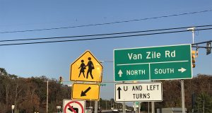 The Van Zile Road intersection of Route 70. (Photo: Daniel Nee)