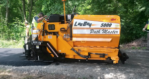 LeeBoy 5000 Path Master paving machine. (Photo: Kirby-Smith)