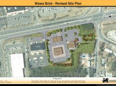 The revised plan for a Wawa and quick-serve restaurant at Route 70 and Duquesne Boulevard. (Courtesy: John Jackson)