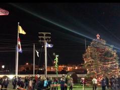 Brick Township's 2017 Christmas tree lighting. (Photo: Daniel Nee)