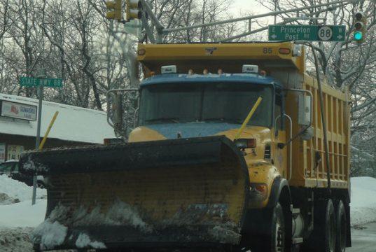 Ocean County Road Department snow plows. (Photo: OCRD)