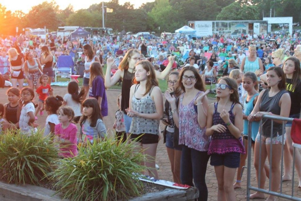 Crowds at Summerfest in Brick. (Photo: Township of Brick)