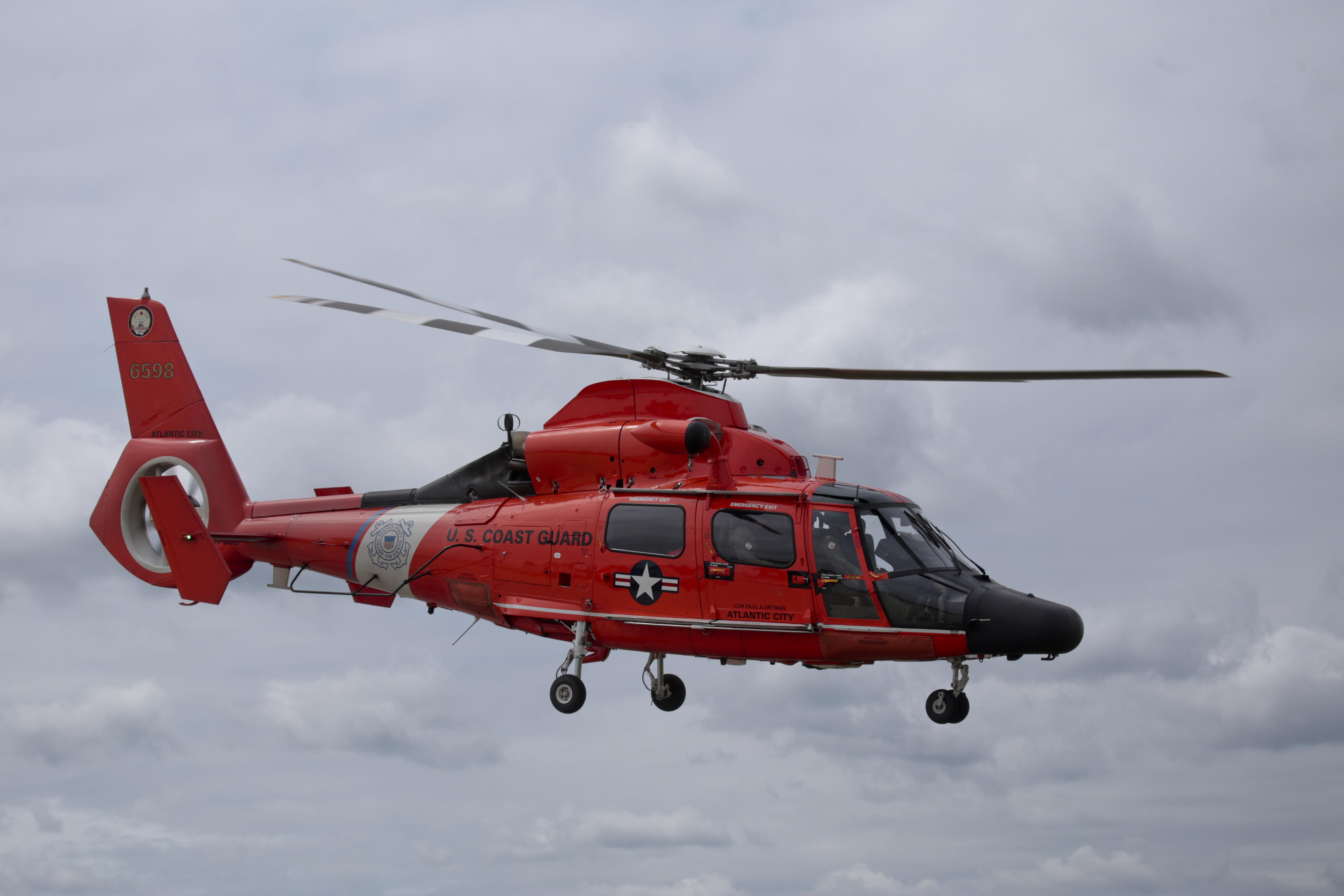US Coast Guard searching for three missing fishermen