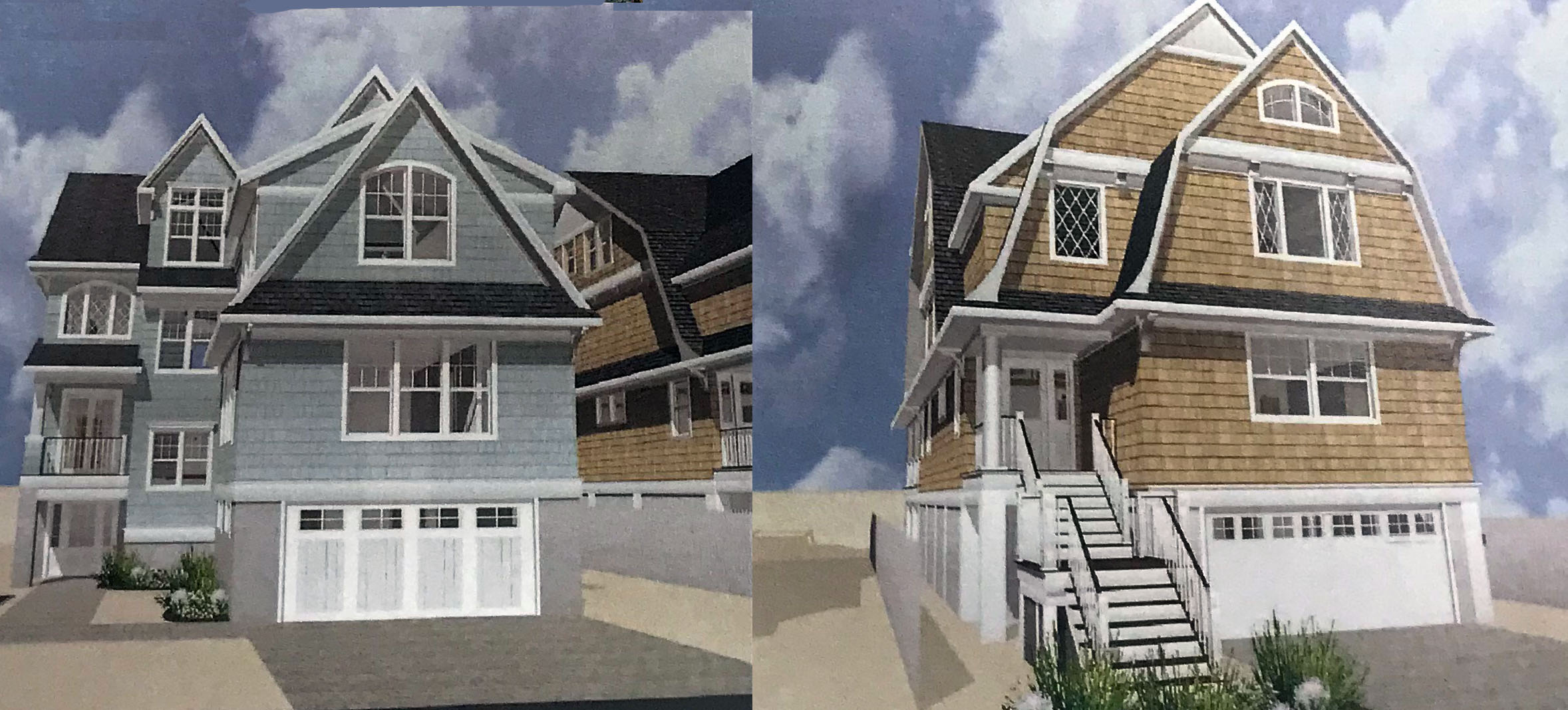 Proposed homes to be built on a portion of the Camp Osborn site in 2018. (Photo: Daniel Nee)