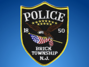 Brick Township Police Department patch. (File Photo)
