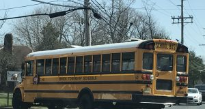 A Brick Township school bus. (Photo: Daniel Nee)
