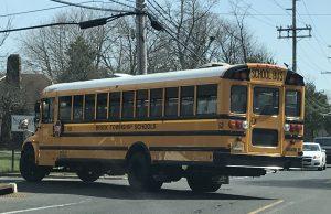 A Brick Township school bus. (Photo: Daniel Nee)