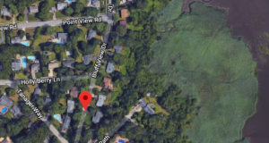 Bluff View Road and adjacent streets. (Credit: Google Maps)
