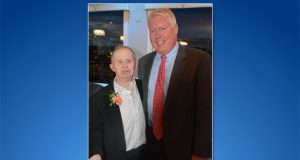 "Brick Mayor John Ducey and Matthew ""Mayor Matt"" Redmond. (Photo: The Arc of Ocean County)"