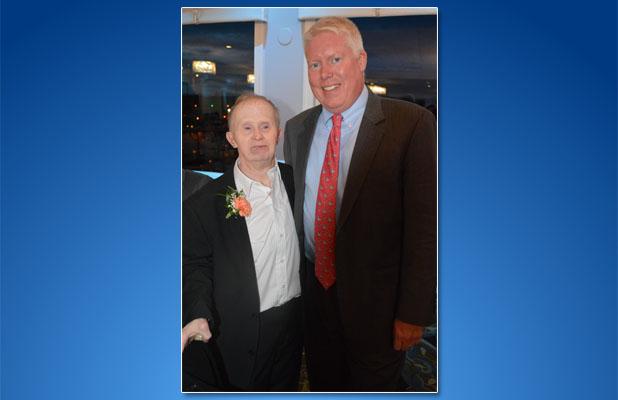 "Brick Mayor John Ducey and Matthew ""Mayor Matt"" Redmond. (Photo: The Arc of Ocean County)"