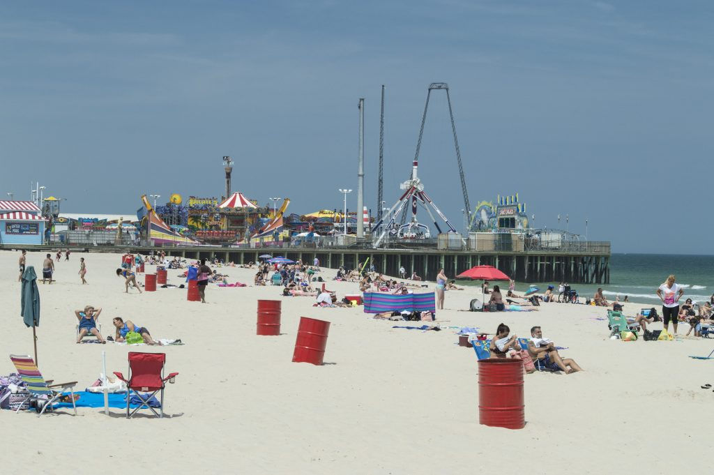 The Seaside Heights beachfront. (Photo: Daniel Nee)