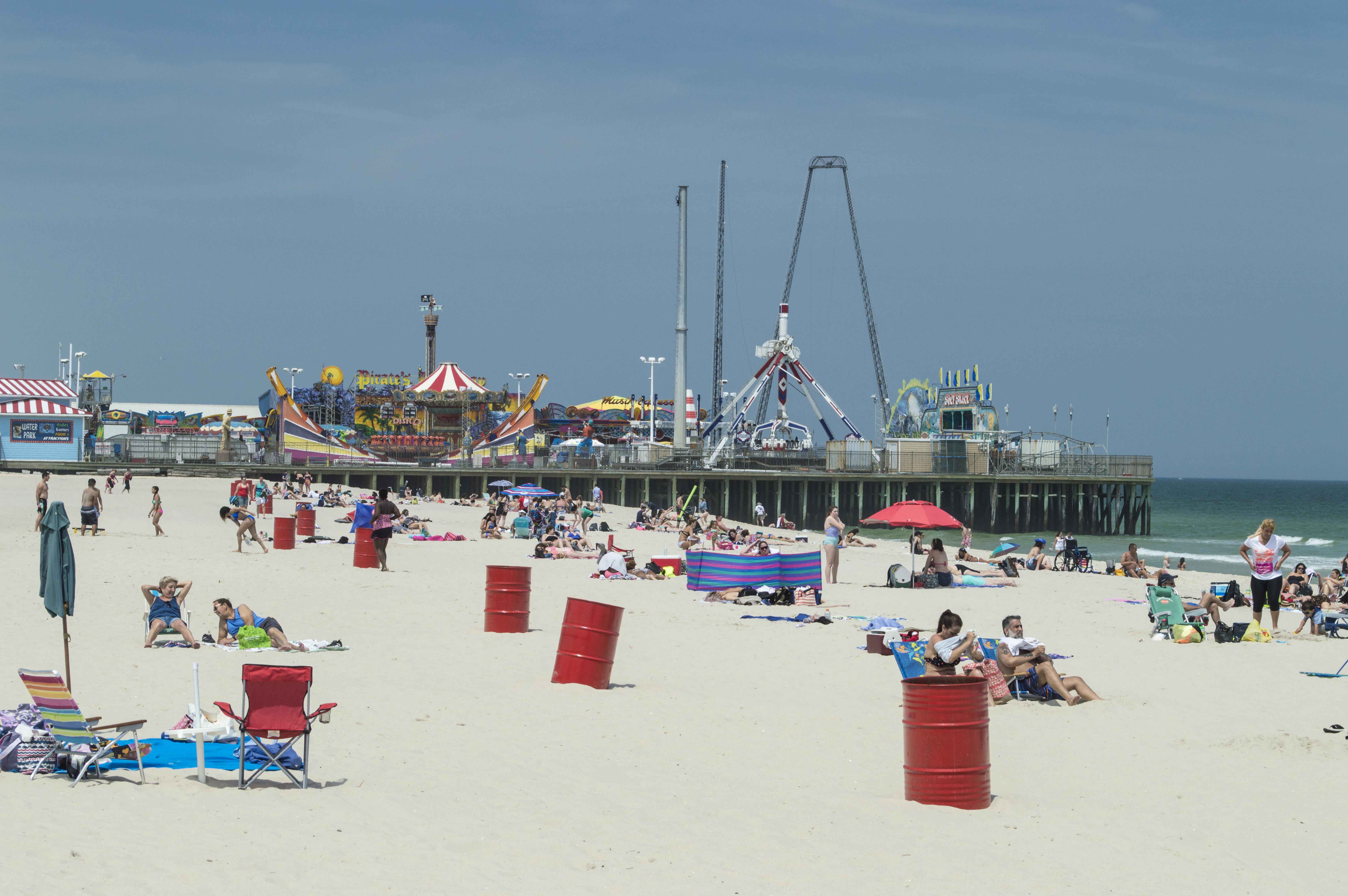 The Seaside Heights beachfront. (Photo: Daniel Nee)