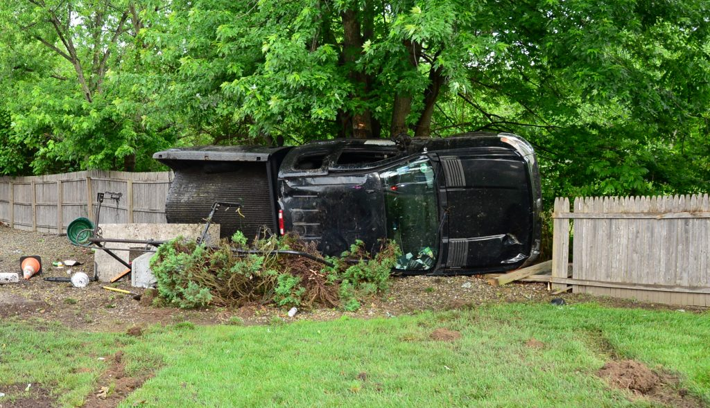 A crash in Brick Township, June 6, 2018. (Photo: Daniel Nee)