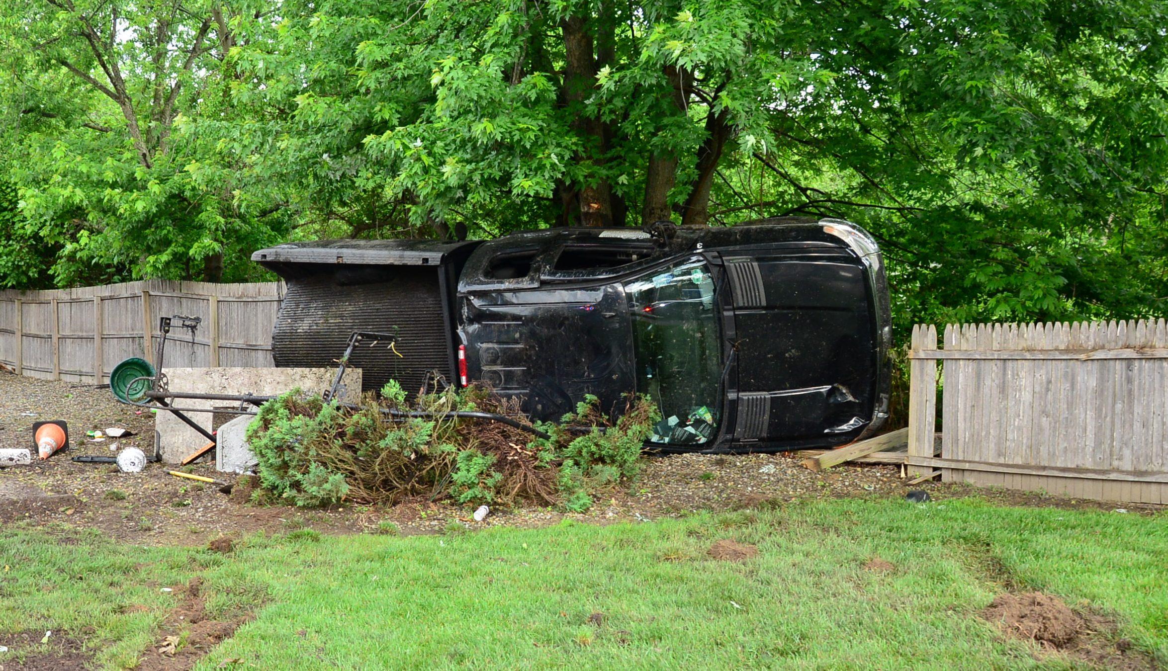 A crash in Brick Township, June 6, 2018. (Photo: Daniel Nee)