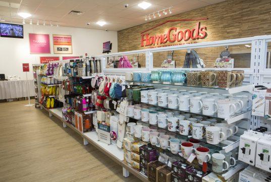 The new Brick HomeGoods location. (Photo: HomeGoods)