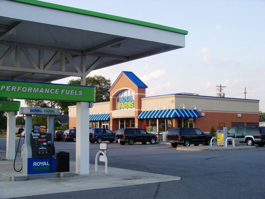 A Royal Farms store in Virginia. (By Idawriter, CC BY-SA 3.0)