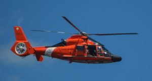HH-65 Dolphin Helicopter from U.S. Coast Guard Air Station Atlantic City (Photo: Daniel Nee)