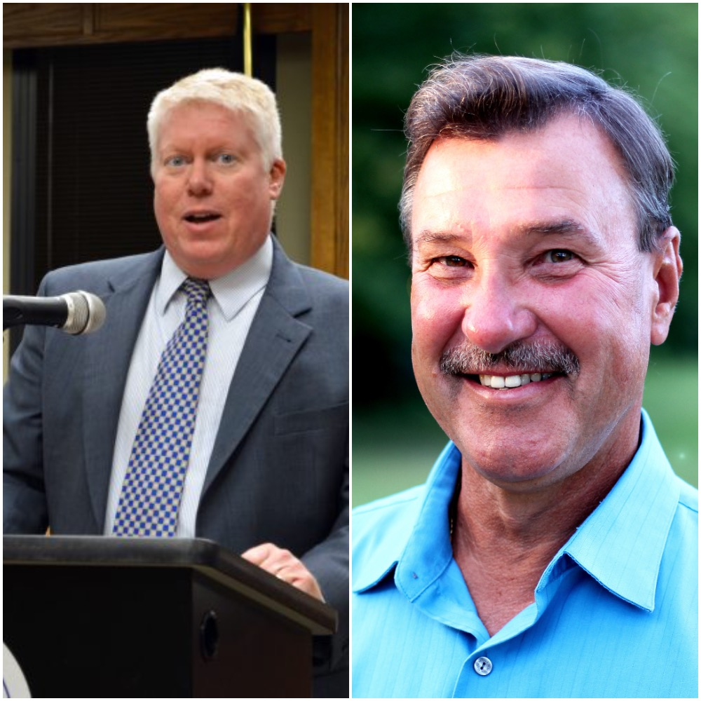 Mayor John Ducey and Councilman Jim Fozman. (Photos: Daniel Nee/Shorebeat)