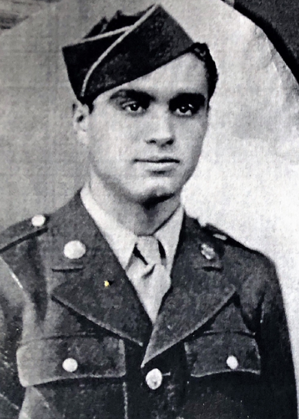 John Santillo, at age 22. (Credit: National Guard Militia Museum of New Jersey)