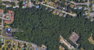 The proposed plot of a 15-lot development in Brick. (Credit: Google Maps)