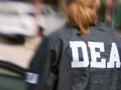 A DEA agent. (Credit: DEA)