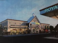 The rendering of a proposed Royal Farms store in Brick, N.J. (Photo: Daniel Nee)
